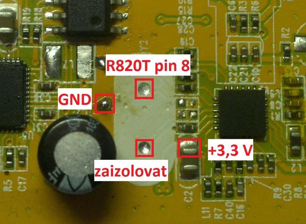 SDR - misto pro oscilator