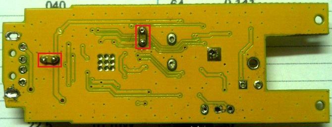 SDR - pridani keramickych kondenzatoru 1 nF