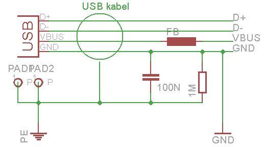 SDR - napájení pøes USB
